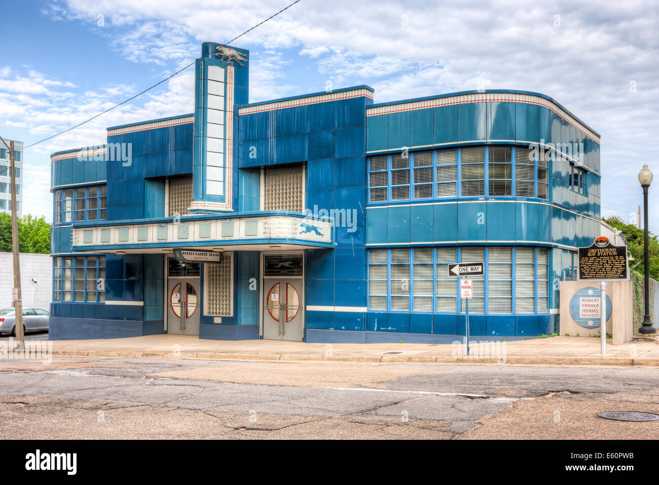 The historic greyhound bus station in jackson mississippi for Architecture firms jackson ms