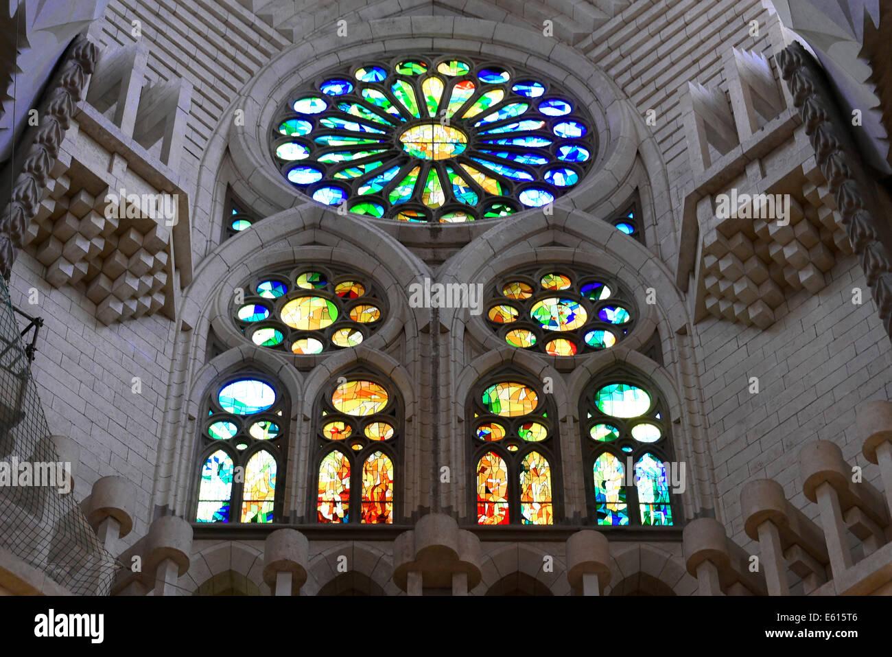 Antoni Gaudi Sagrada Familia Interior