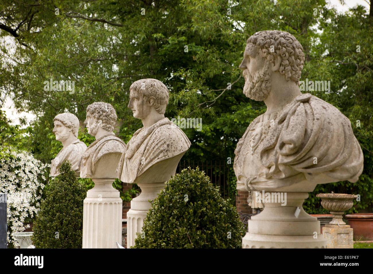 UK England, Dorset, Gillingham, Wyke, Talisman, Unusual Outdoor Garden  Ornaments,