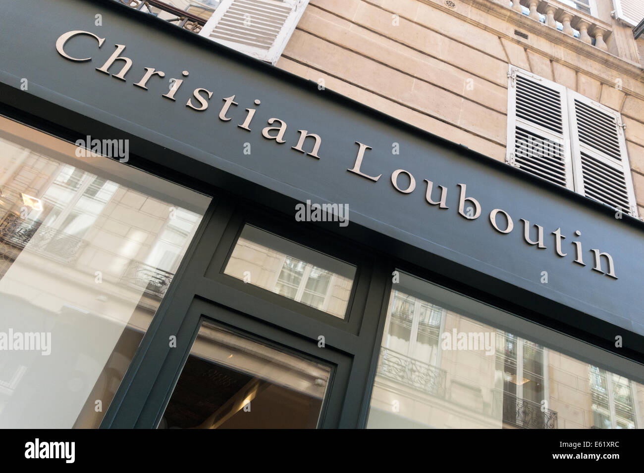 christian louboutin shoes paris store