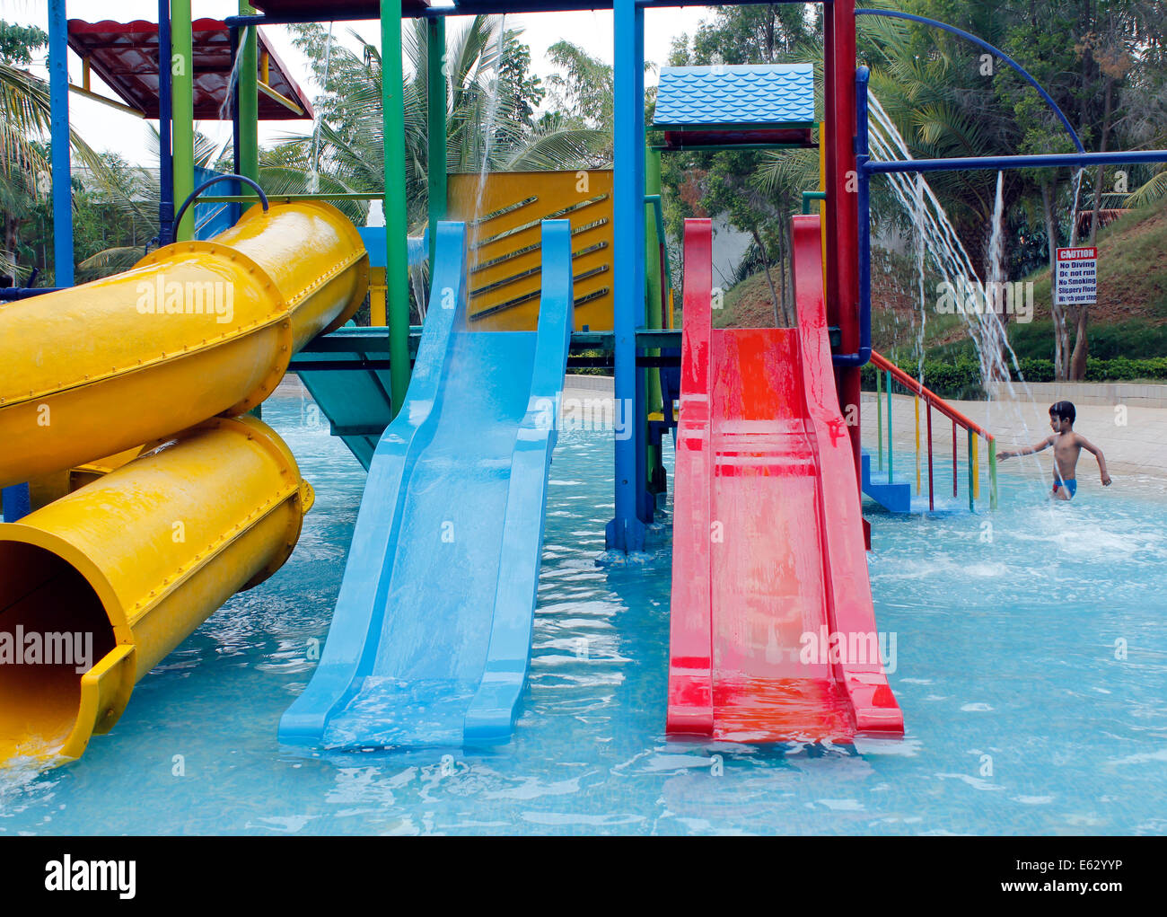 Water Amusement Games At Innovative Film City Near Bangalore India Stock Photo Royalty Free