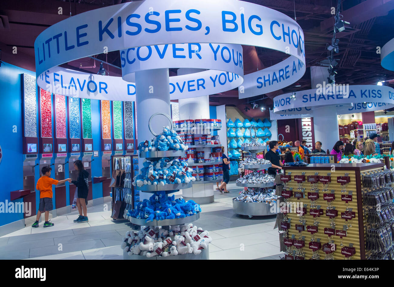 The Hershey's Chocolate World store in New York-New York hotel in ...