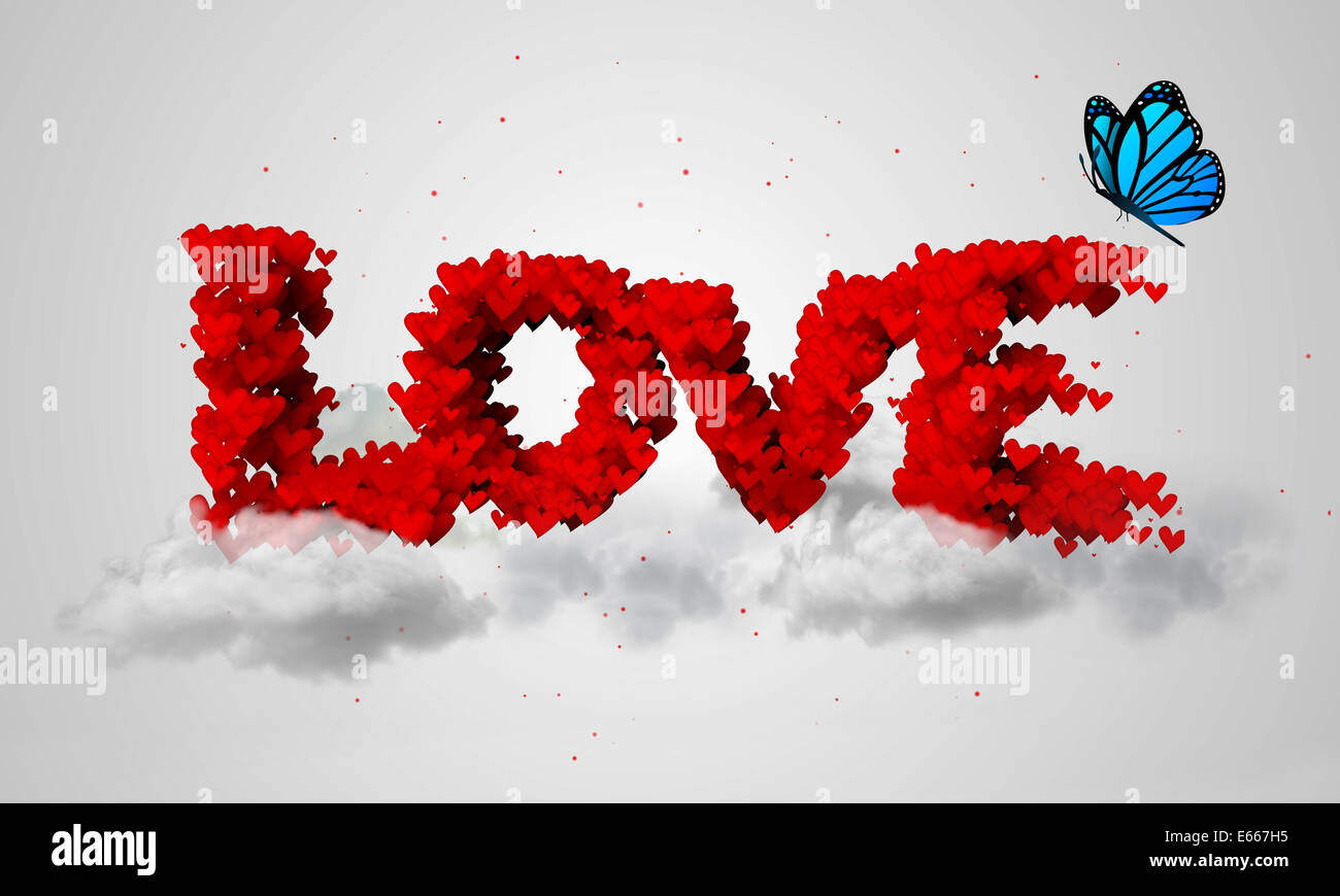 Love particles 3d butterfly text art sky stock photo 72667089 alamy love particles 3d butterfly text art sky biocorpaavc Images
