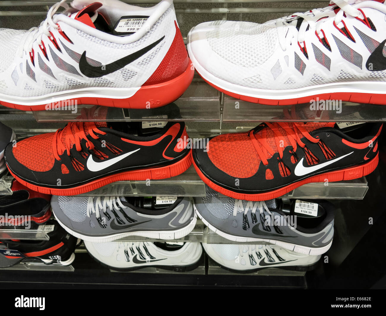 Nike Athletic Shoes, Champs Sports in the Holiday Village Mall, Great  Falls, MT, USA