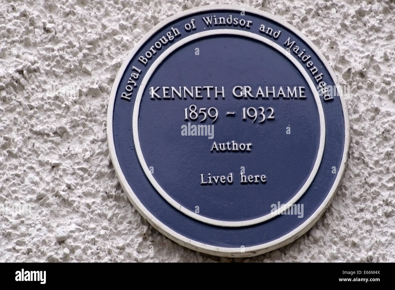 Wind in the willows ornaments - Author Of Wind In The Willows Kenneth Grahame S Blue Plaque Memorial At Cookham Dene