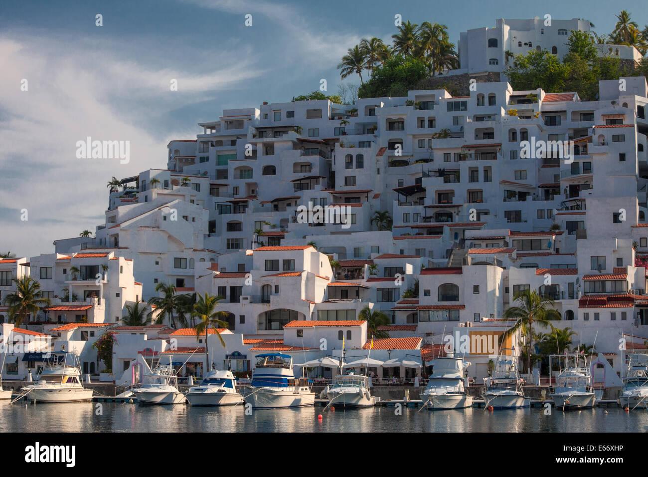 The Marina At Las Hadas Resort In Manzanillo Colima