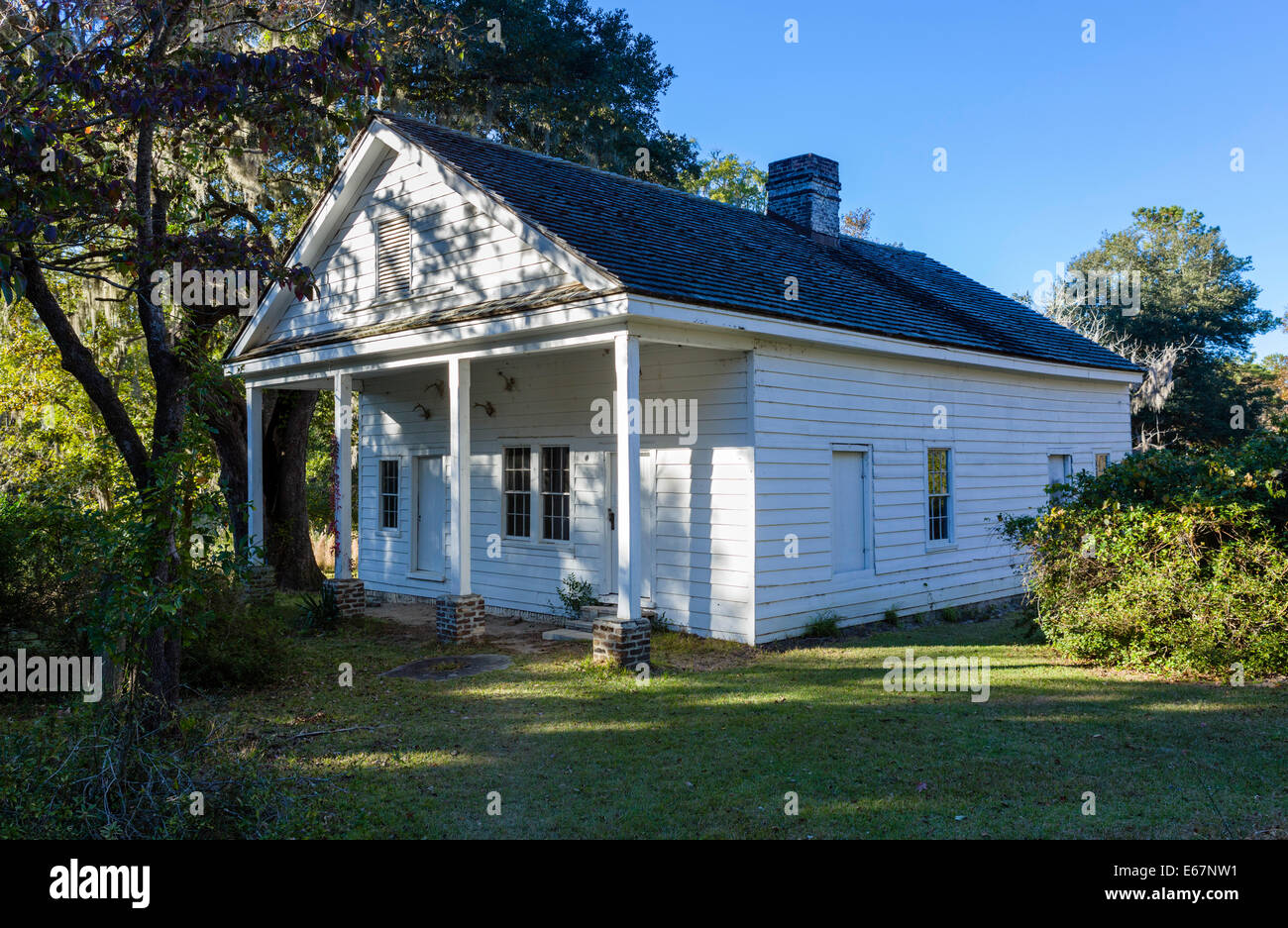 Plantation Kitchen House The Kitchen House At Hampton Plantation State Historic Site Stock