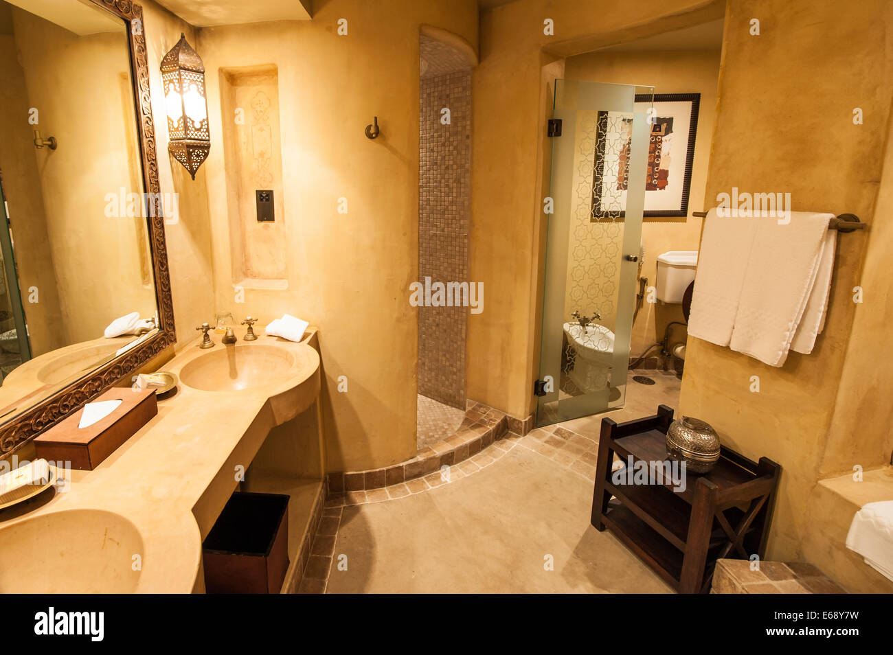 Spa bathroom suites - Guest Bath Bathroom Accommodations Room Suite At The Bab Al Shams Desert Resort Spa