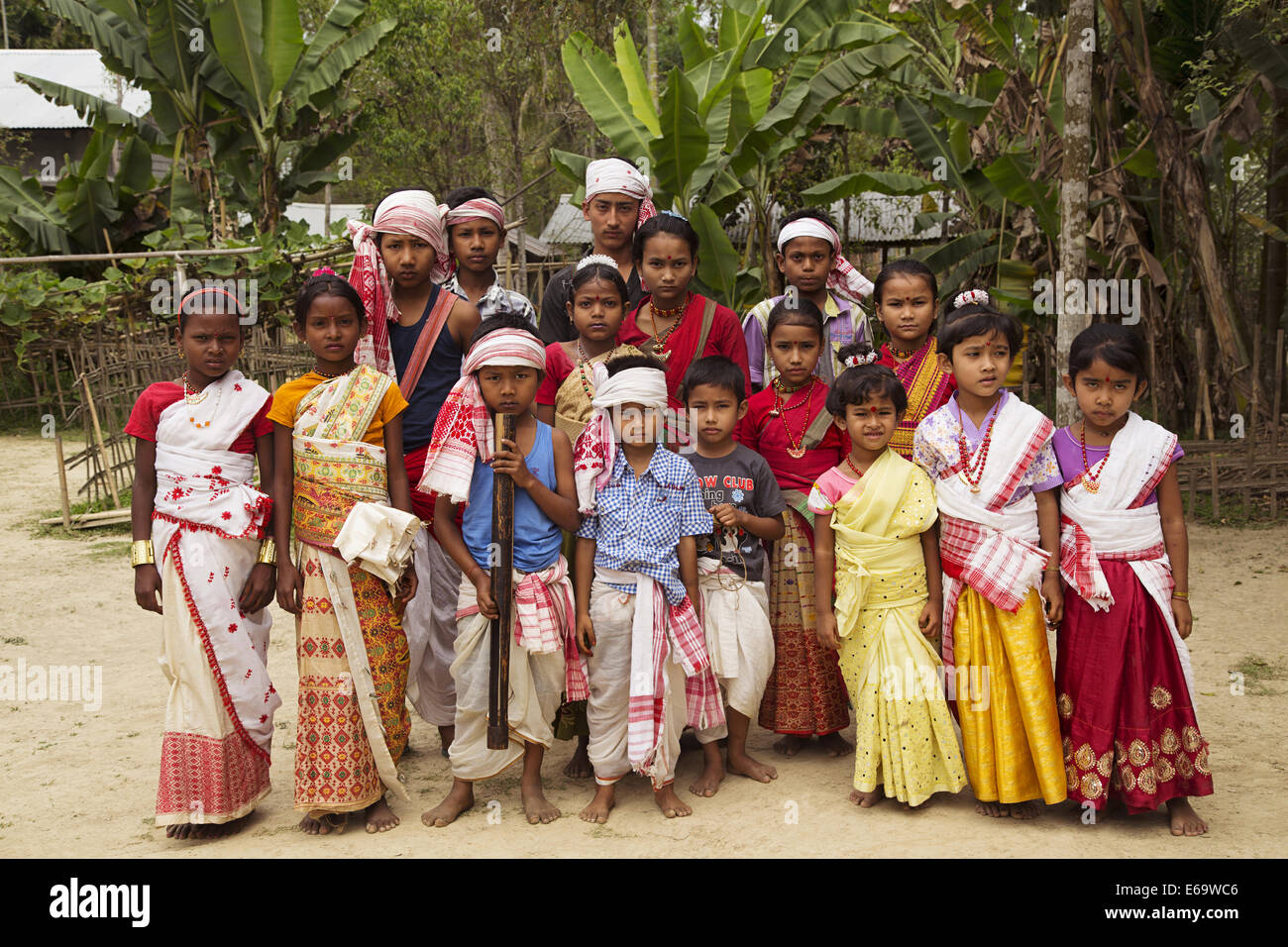 Assam traditional dress images