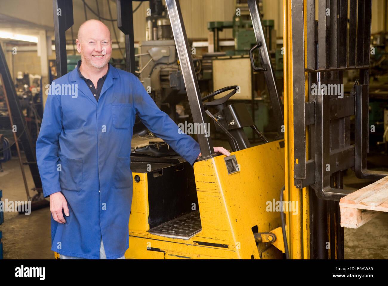 logistics forklift warehouse clerk fork lift driver stock photo logistics forklift warehouse clerk fork lift driver