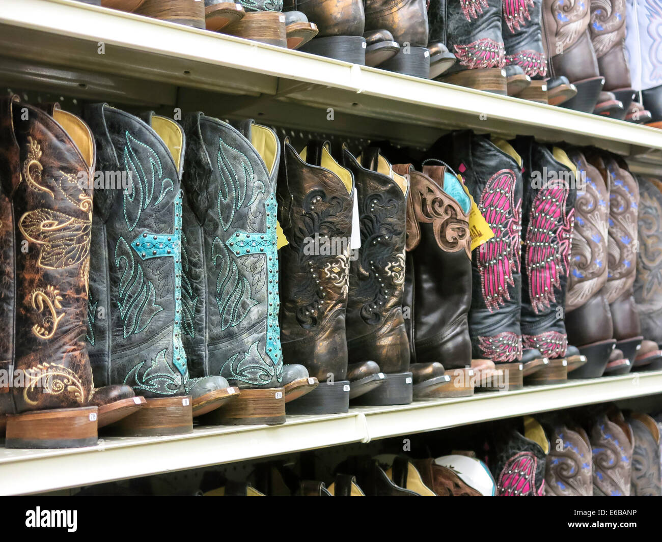 Western Cowboy Boots, Big R Ranch Store, Great Falls, Montana, USA ...