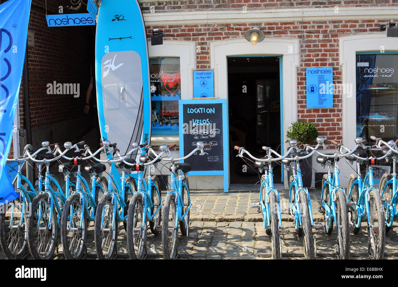 Bicycle And Board Hire Shop Quai Blavet St Valery Sur Somme