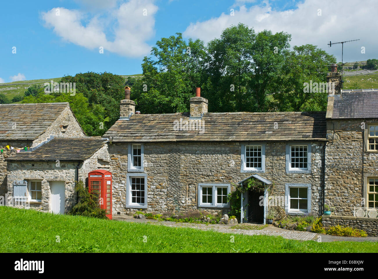 Arncliffe Village Littondale Yorkshire Dales National Park North England UK