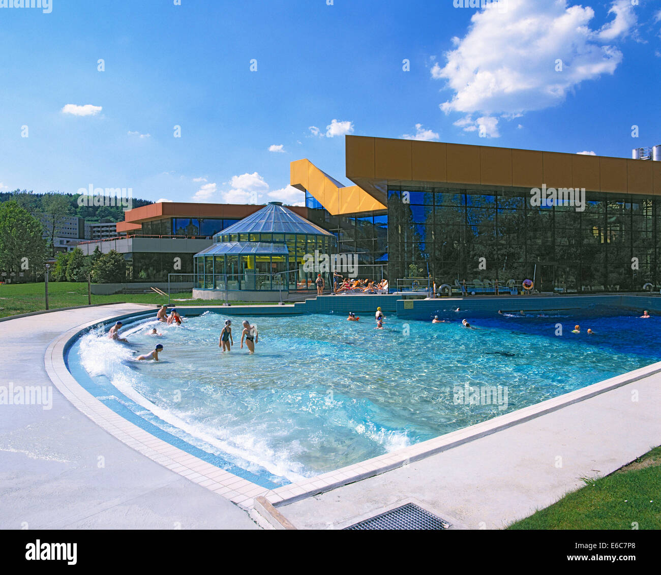Kurbezirk, Wellenbad, Thermalbad Spessart Therme In Bad