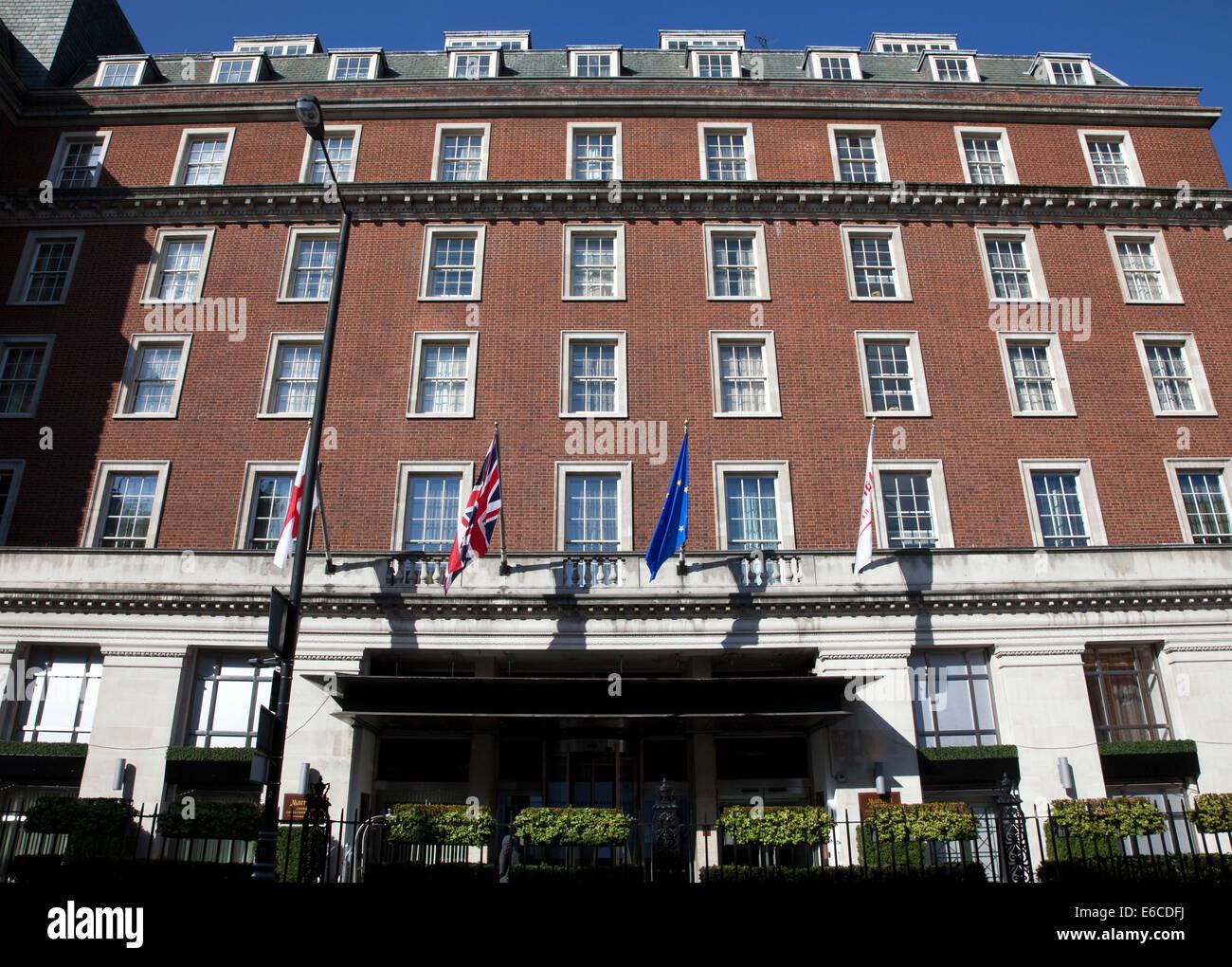 Grosvenor Marriott Hotel London Grosvenor Square