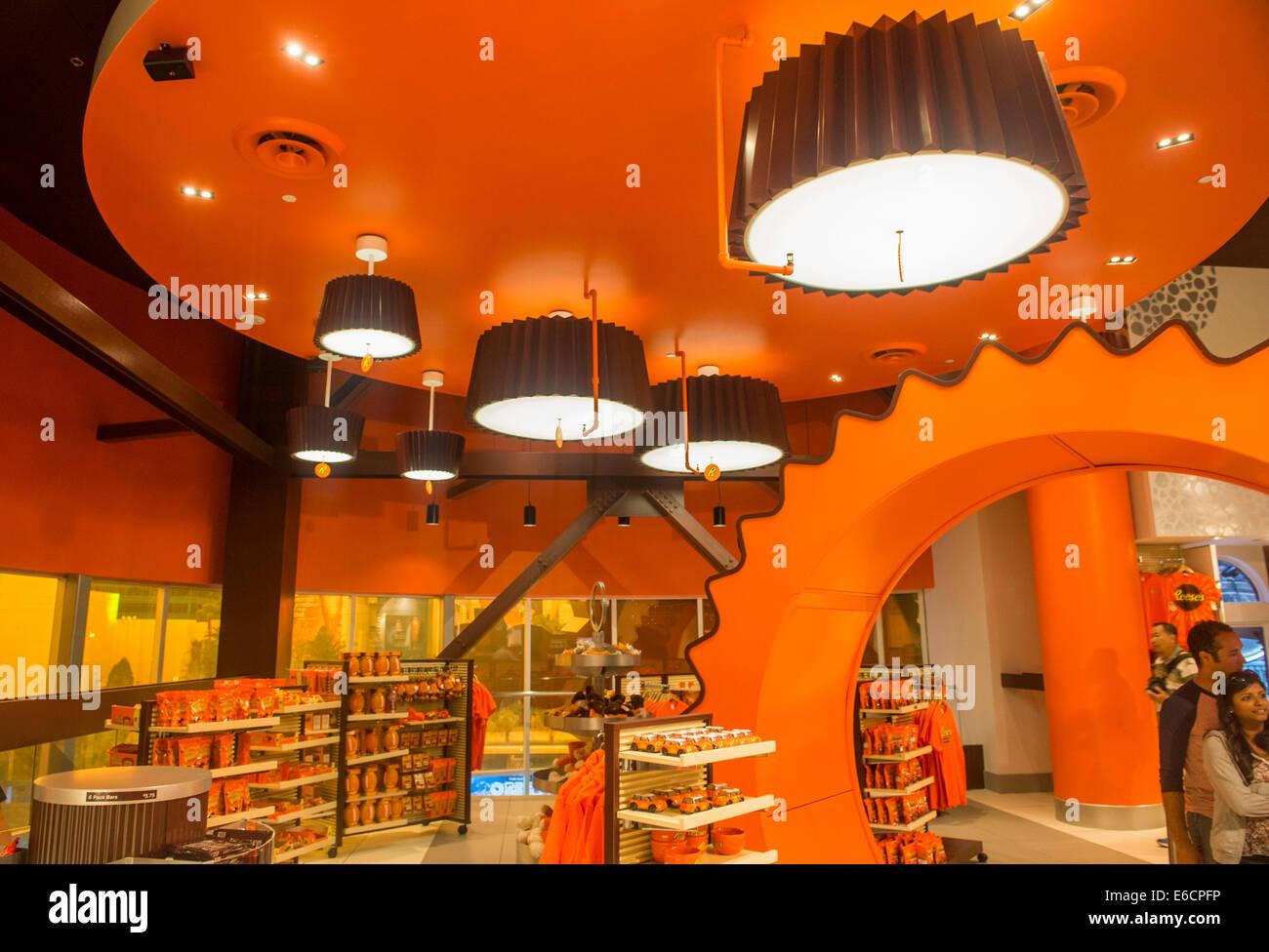 The Hershey's Chocolate World store in New York-New York hotel in ...