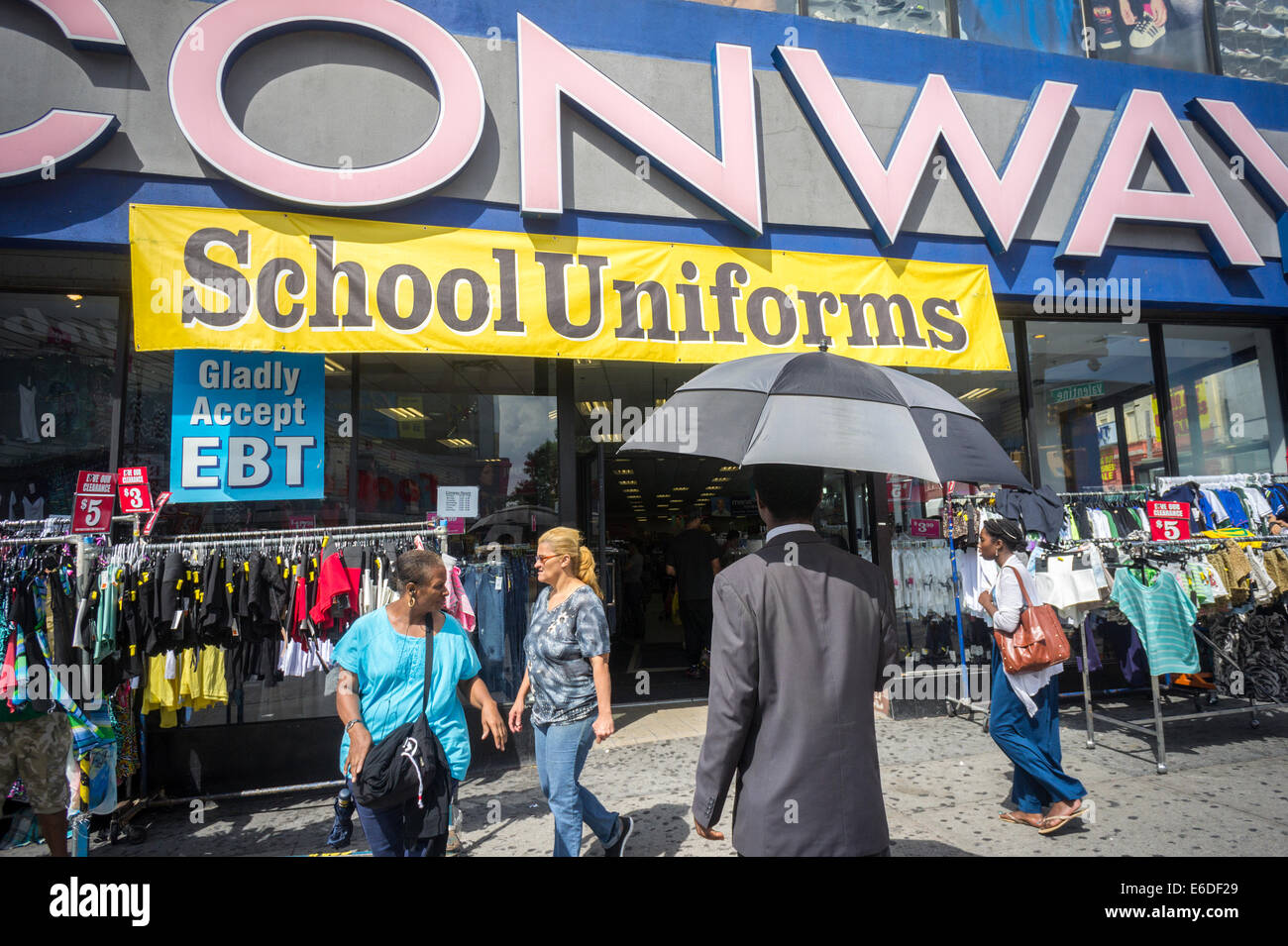 Clothing stores on fordham road