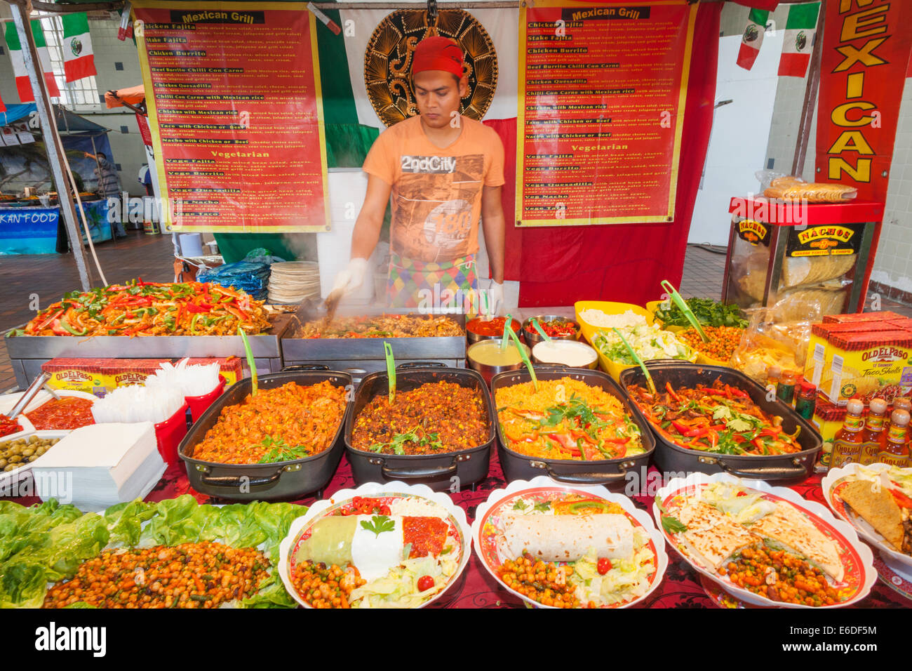 Mexican Food In London England