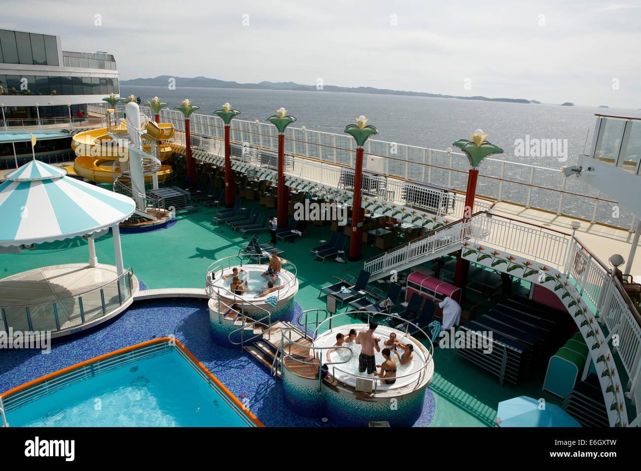Swimming In The Norwegian Pearl Cruising The Inside Passage From - Norwegian pearl cruise ship