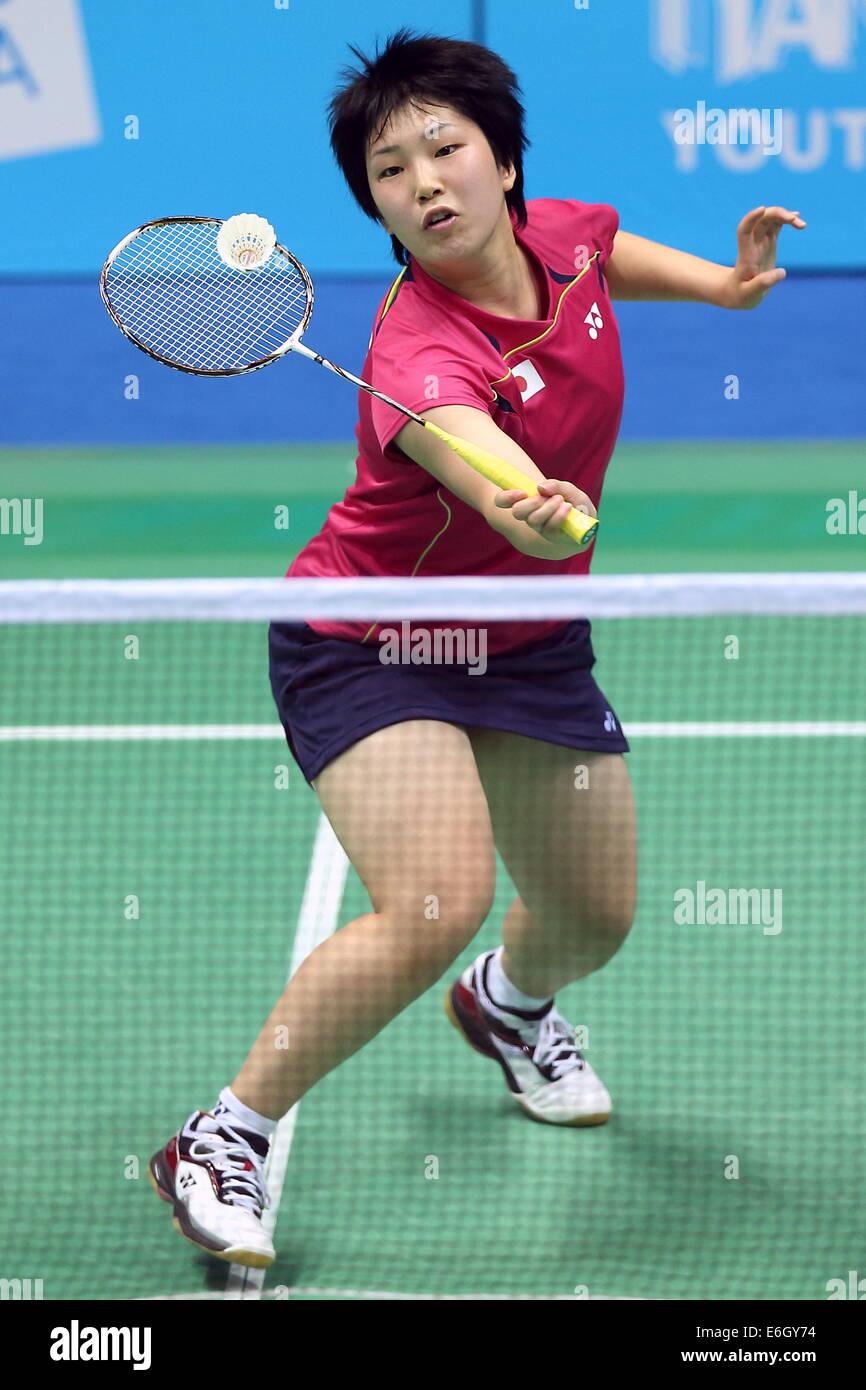 Akane Yamaguchi JPN August 22 2014 Badminton Girls