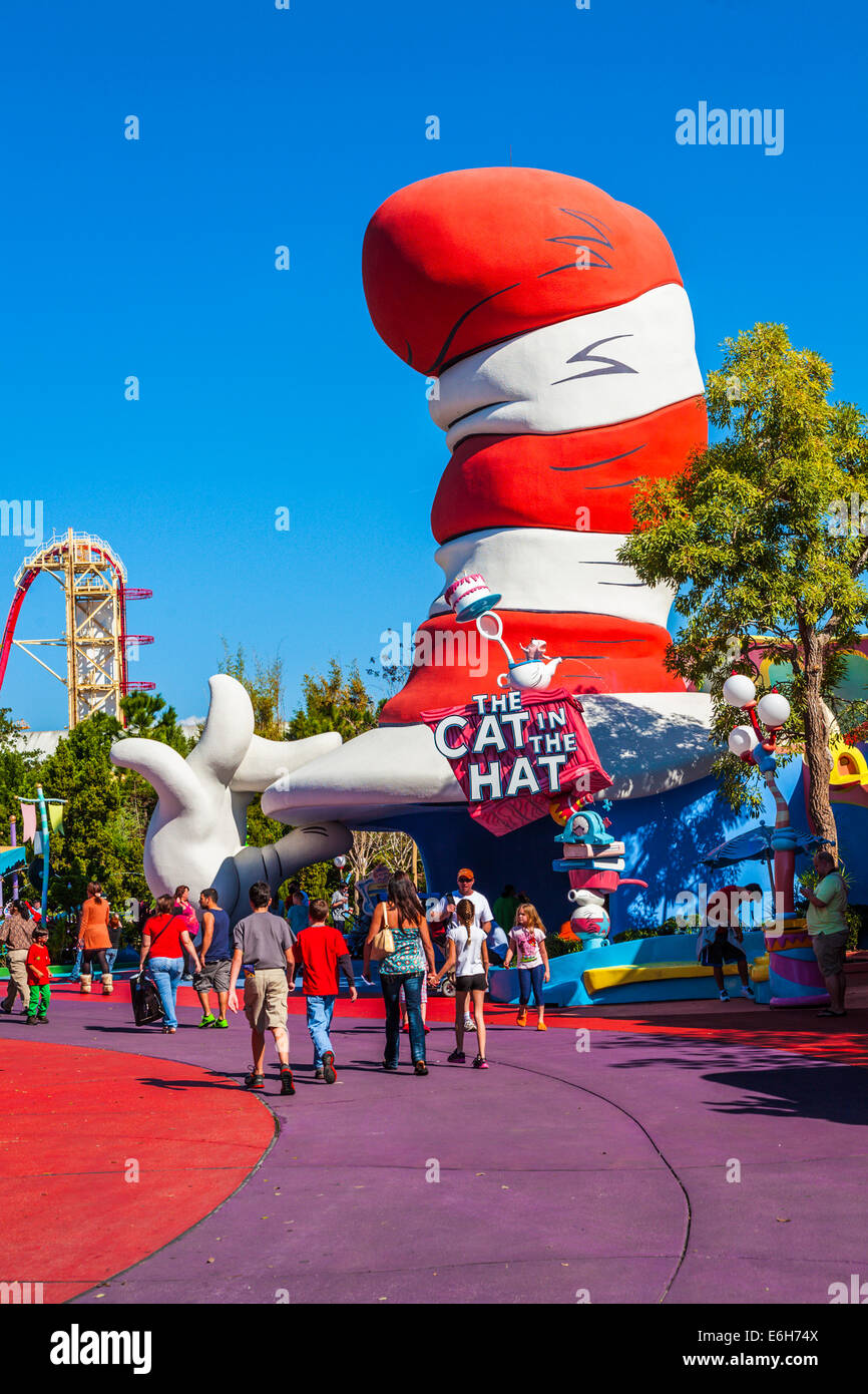 The Cat In The Hat Universal Studios Orlando