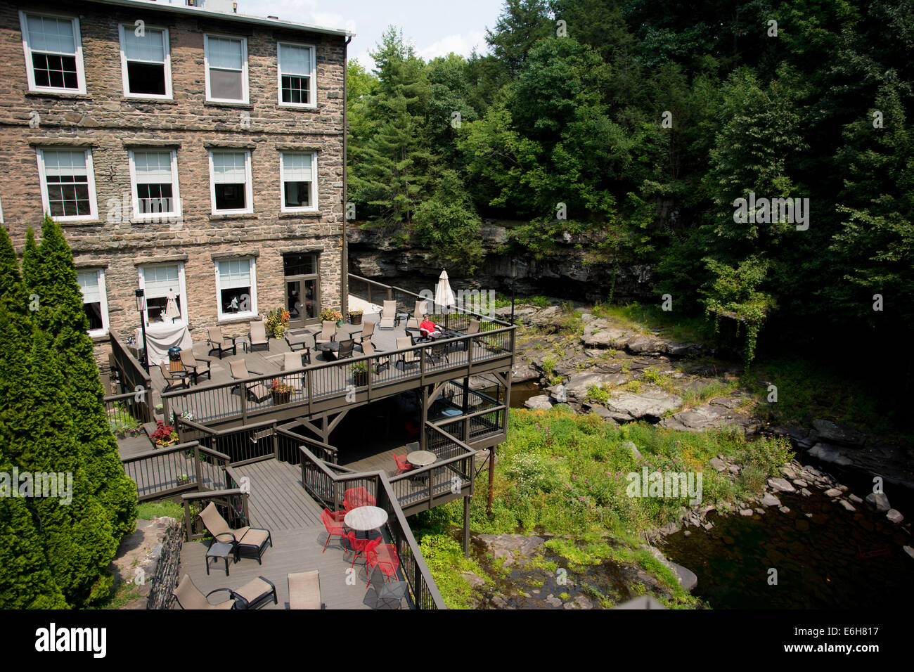 The ledges hotel in the poconos hawley pennsylvania is a luxury historic hotel