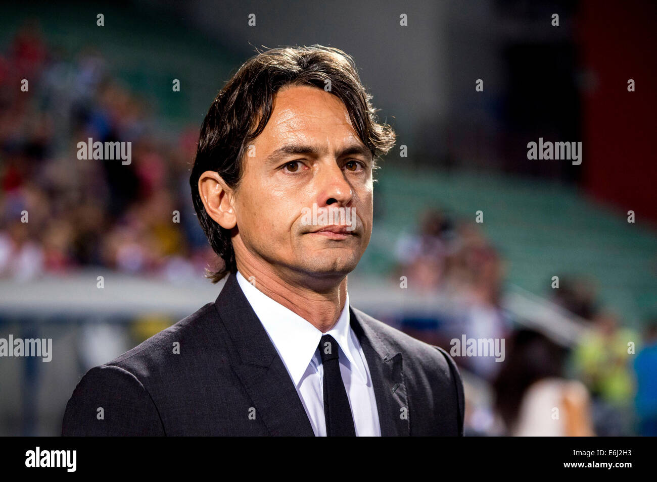 Filippo Inzaghi Milan AUGUST 23 2014 Football Soccer TIM