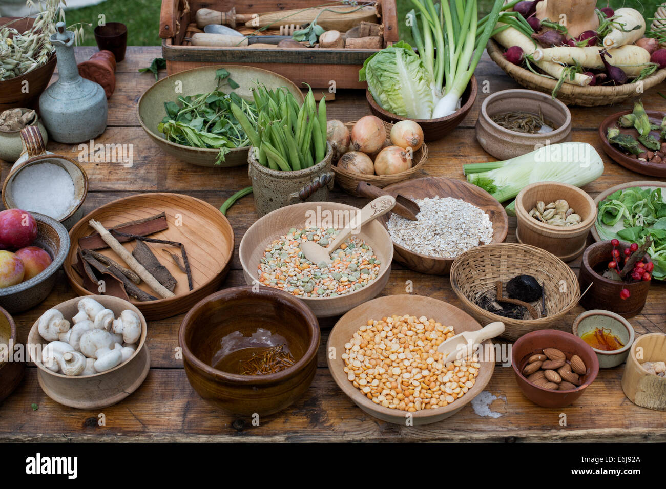 medieval food People were able to keep food edible for months and even years during the middle ages, even without refrigerators.