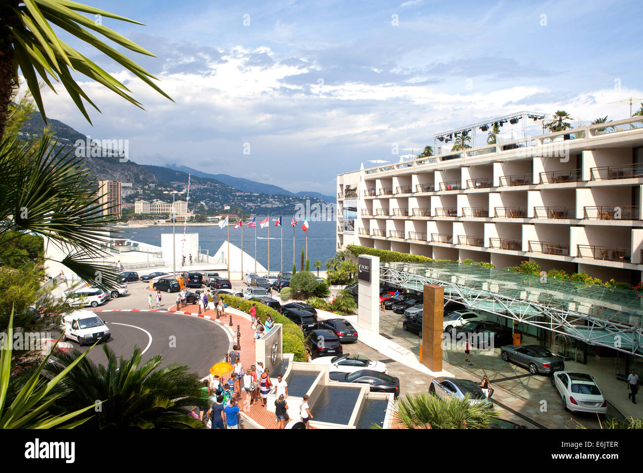 Fairmont Hotel Hairpin Monte Carlo An Area Of The