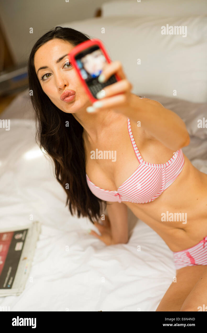 Young Girl Underwear Stock Photos Royalty Free Young