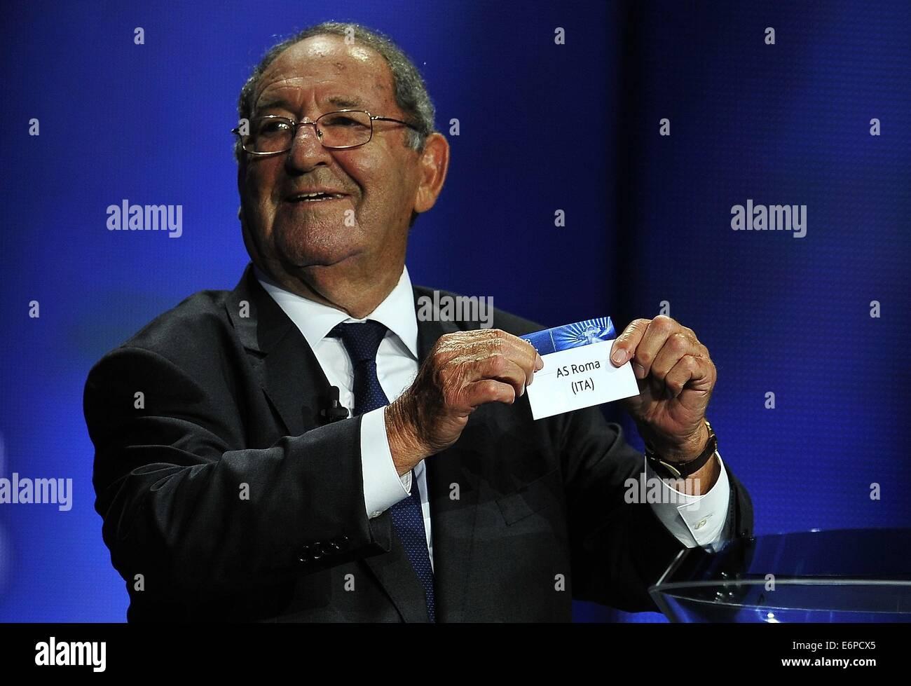Monte Carlo Monaco 28th Aug 2014 FRANCISCO GENTO ex Real