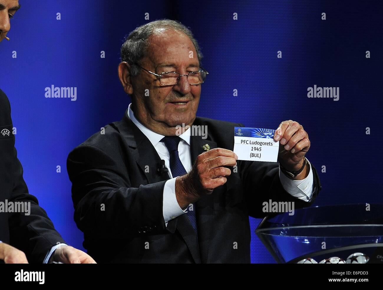 Monte Carlo Monaco 28th Aug 2014 Real Madrid s CF ex soccer