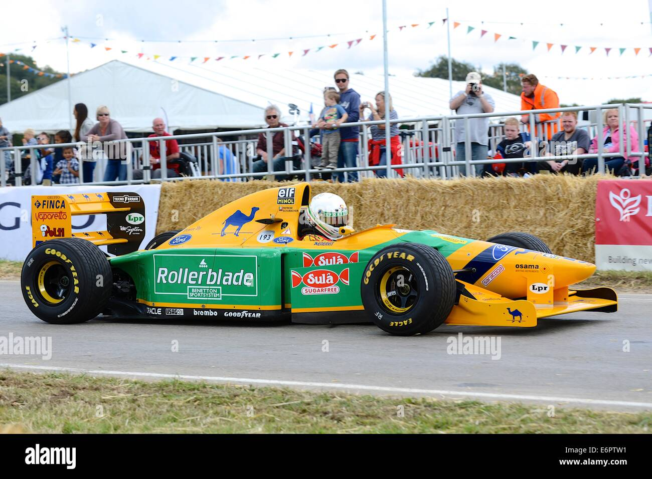 Camel Lotus Type 101 Formula 1 Car At Chris Evans Carfest