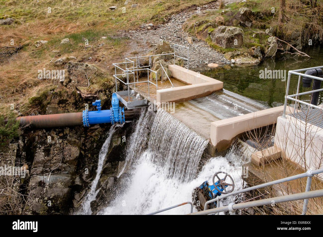 TES small hydro generator - Susasca, Switzerland - YouTube