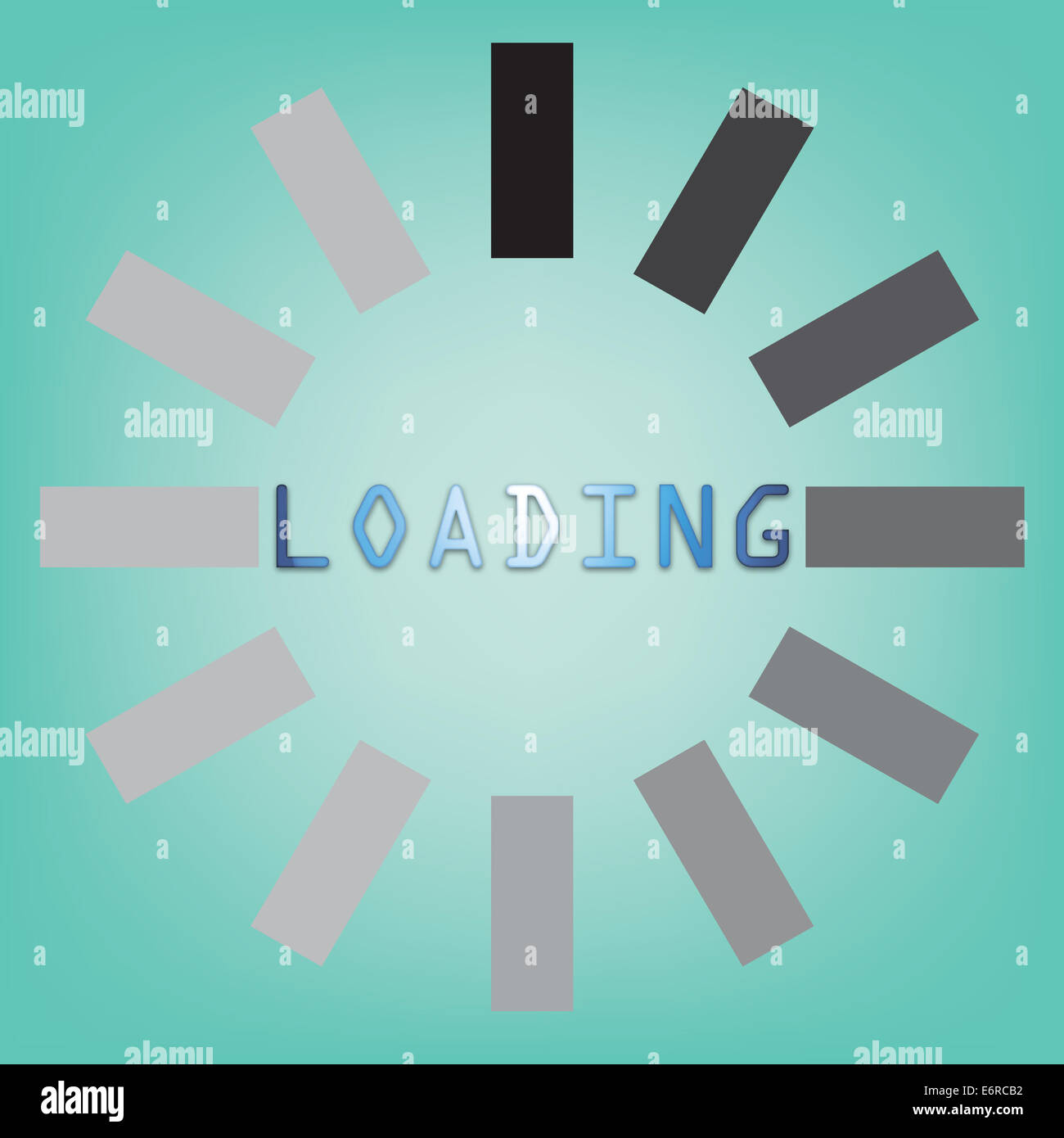 Abstract loading symbol on a blue background stock photo royalty abstract loading symbol on a blue background biocorpaavc Image collections