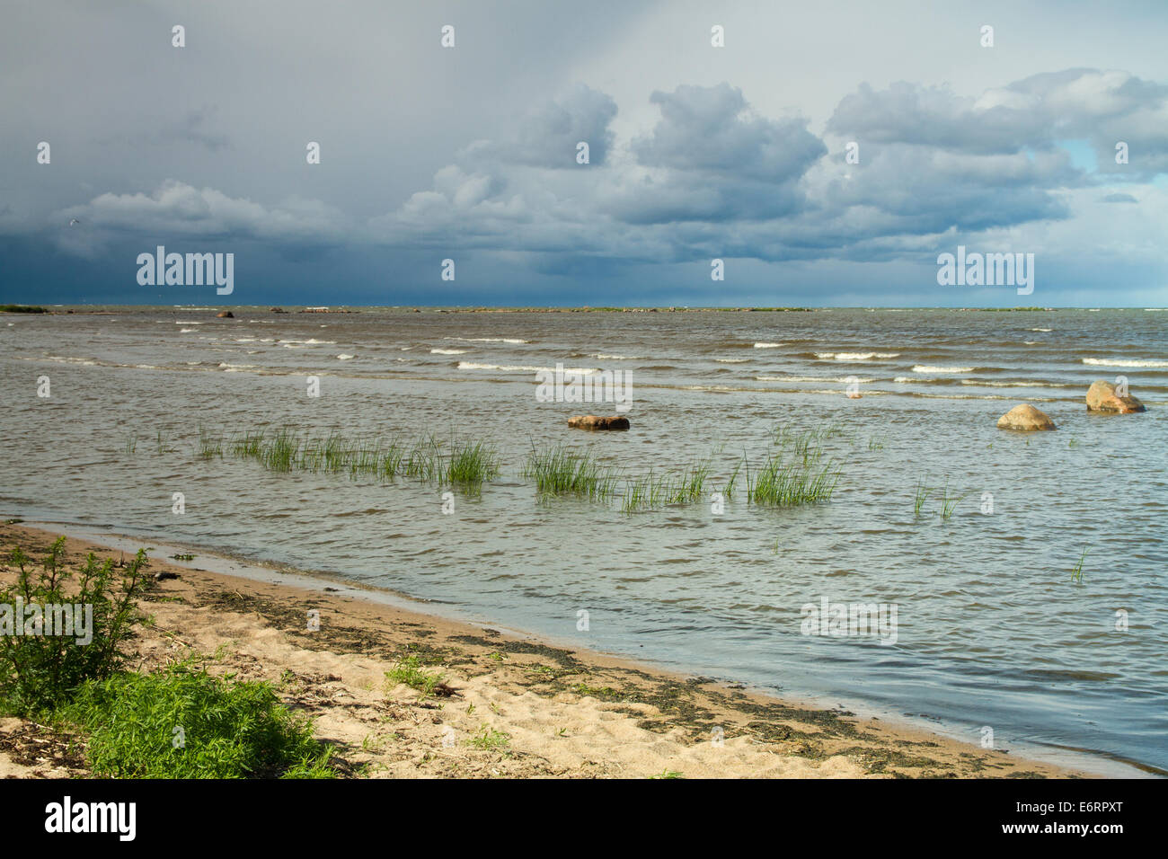 Baltic Sea In Summer Beautiful Places In Europe Stock Photo Royalty Free Image 73052304 Alamy