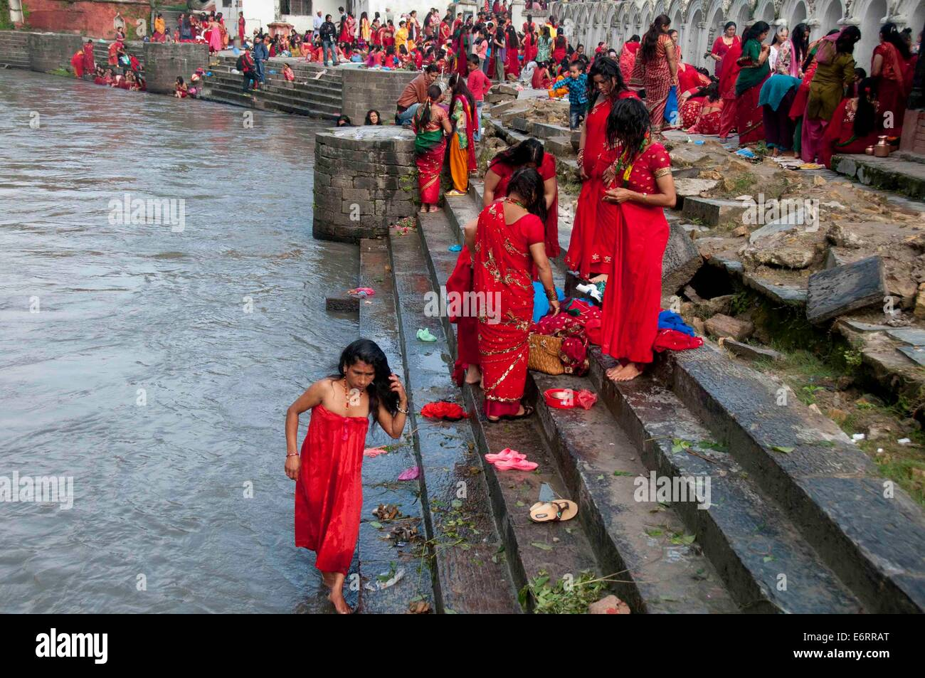 Traditional Sacred Bathing in Nepal 96