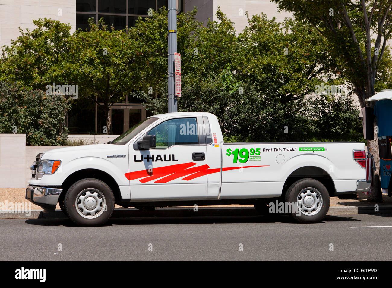 U Haul Rental Pickup Truck Usa Stock Photo Royalty Free
