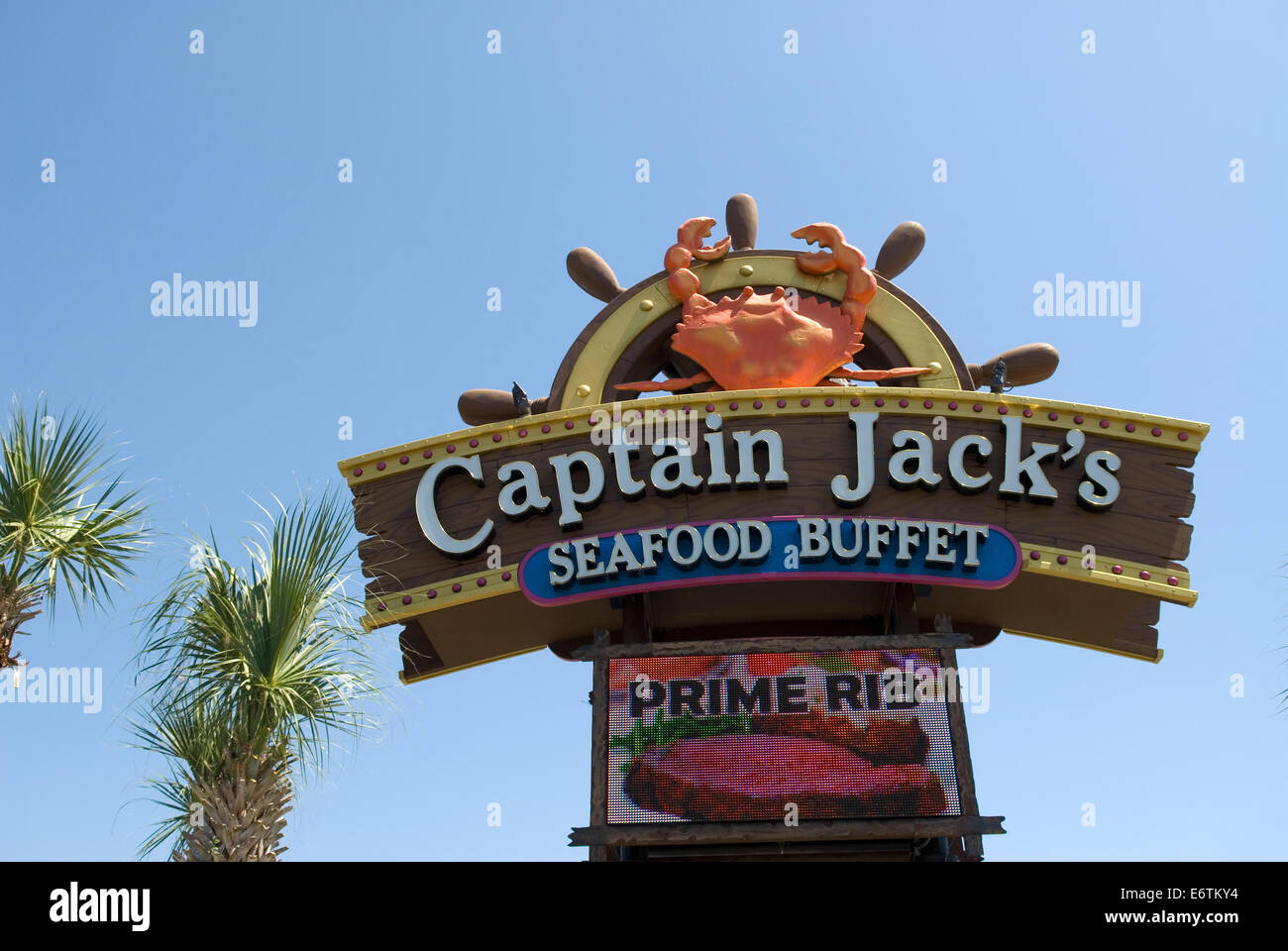 Captain Seafood Myrtle Beach