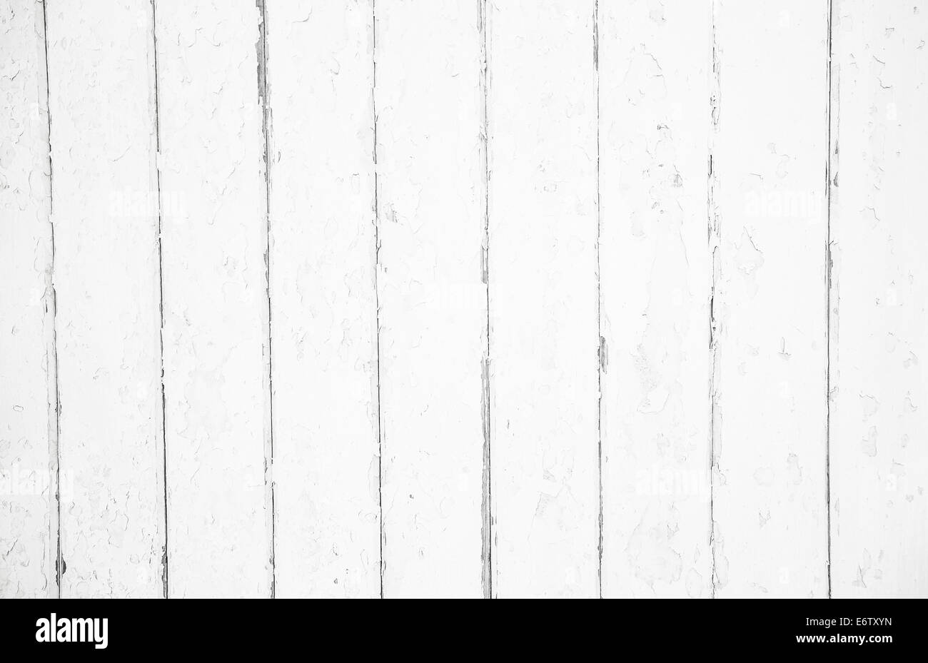 Shabby Chic: Old Wood Background In White Color
