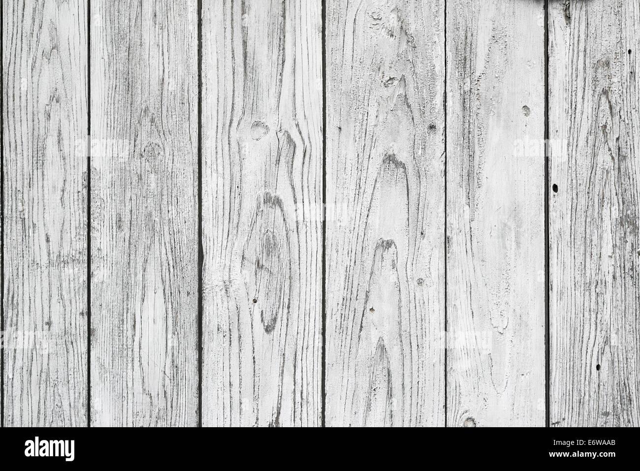 White Wood Planks Texture As Background Stock Photo
