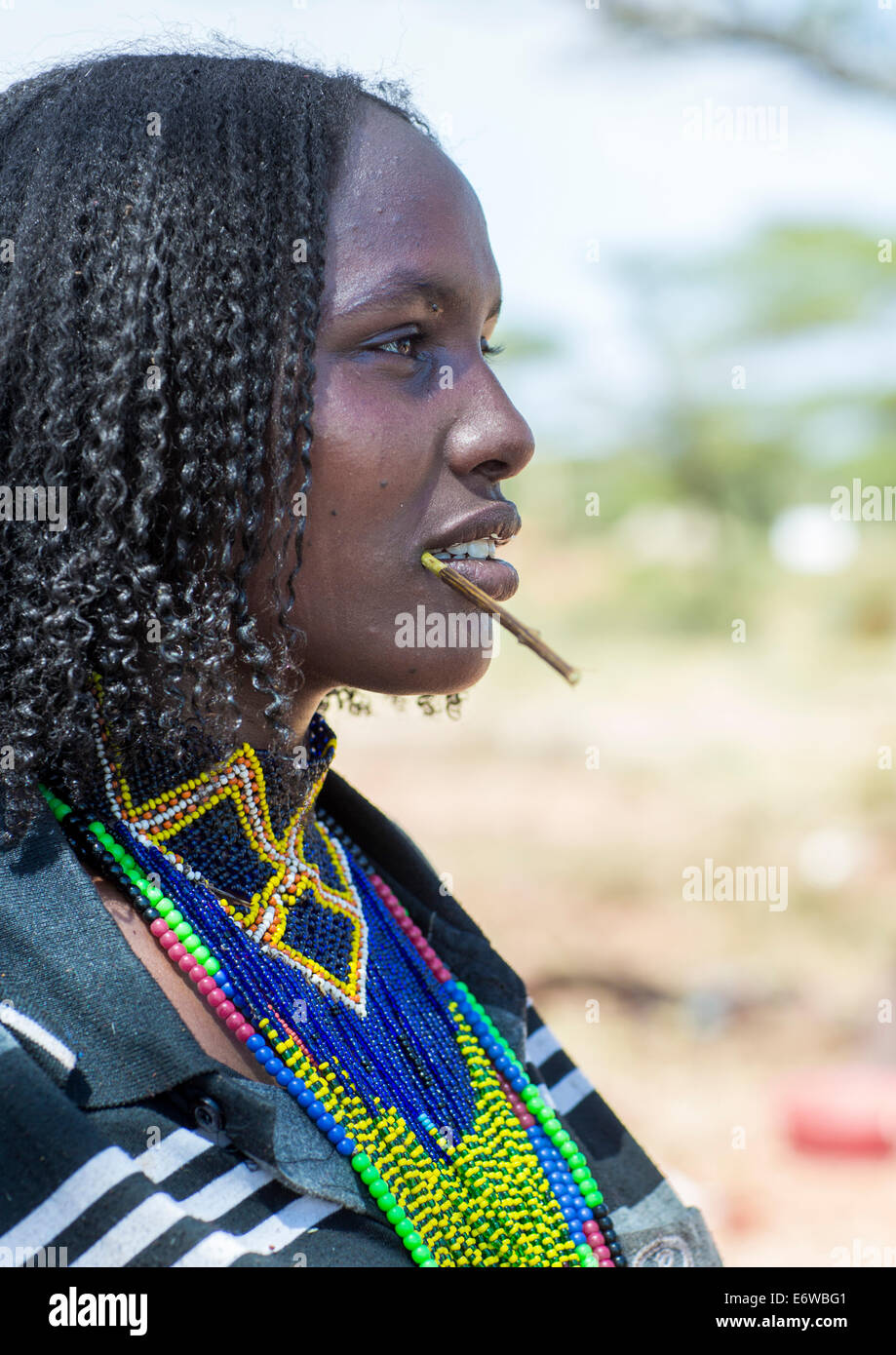 Borana Tribe Woman Yabelo Ethiopia Stock Photo Royalty
