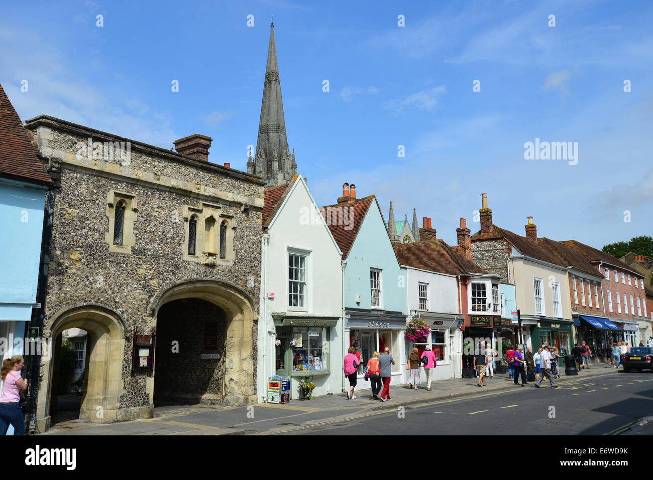 South Street, Chichester, West Sussex, England, United