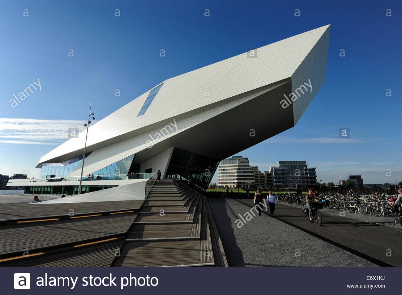 Modern Architecture Netherlands filmmuseum, eye film institute netherlands, modern architecture at
