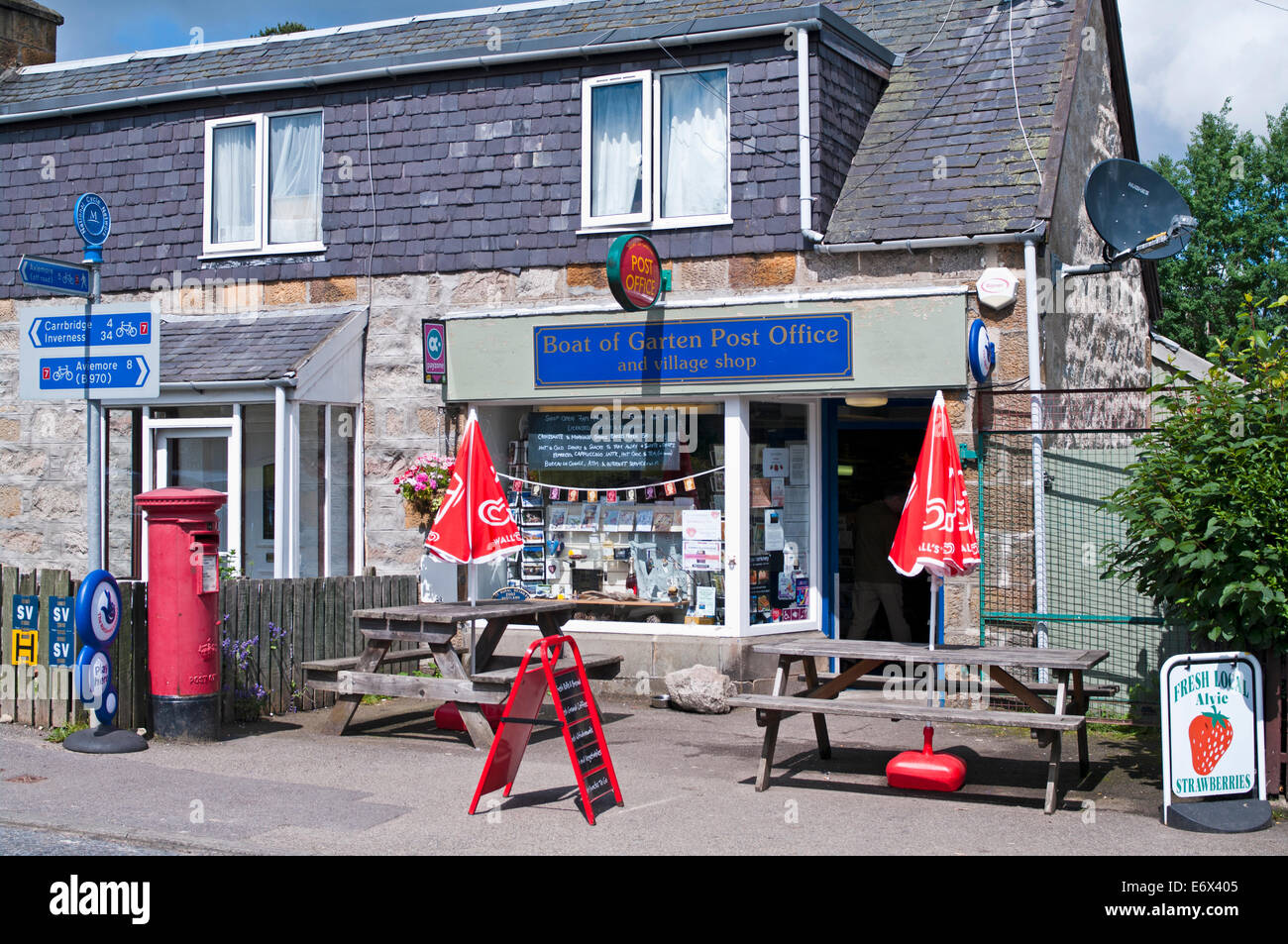 Garten shop  Boat of Garten Post Office and village shop, Boat of Garten, near ...