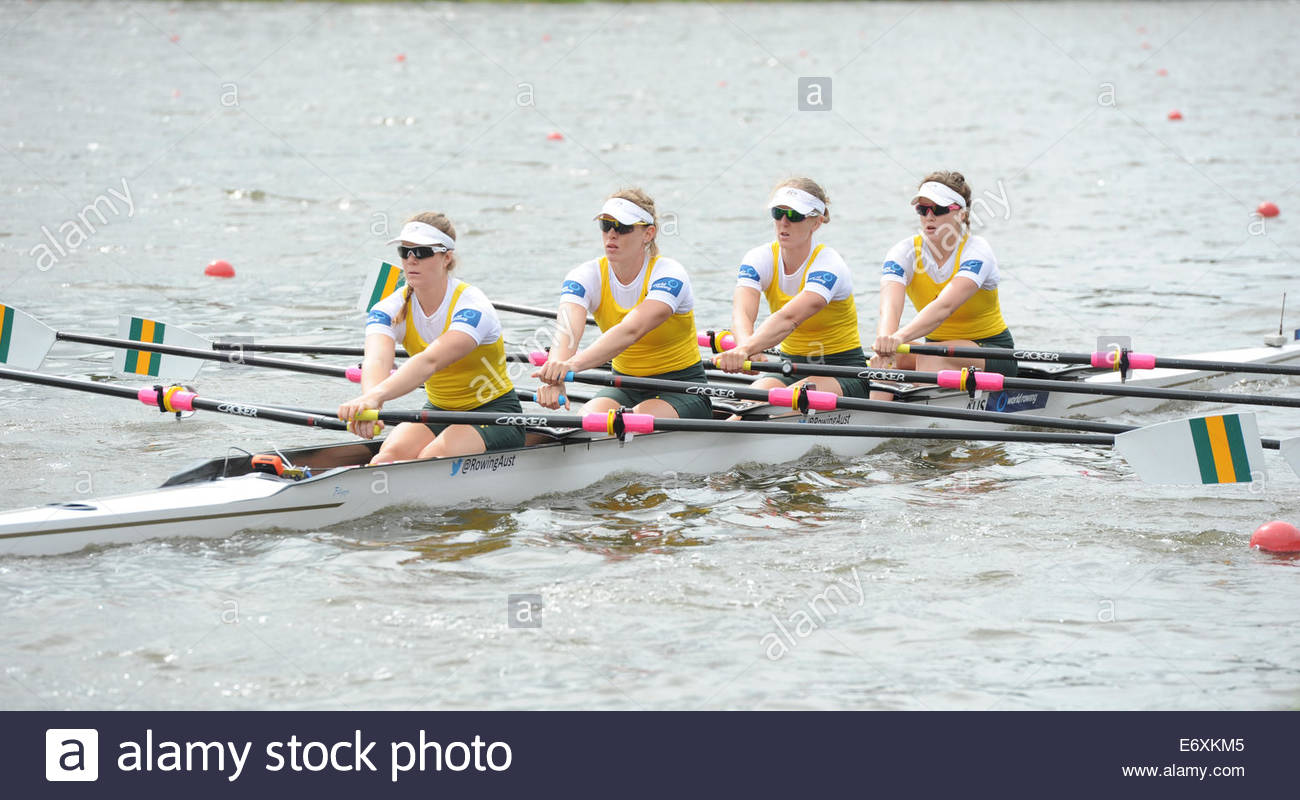 World Rowing Championships. Womens quadruple sculls ...