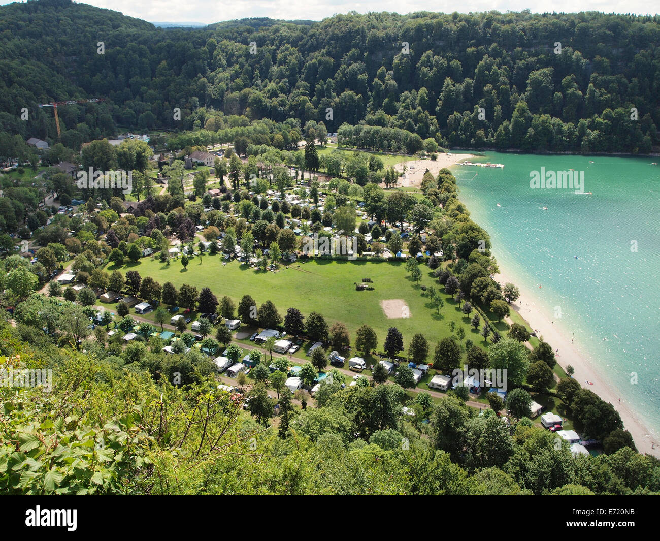 camping in jura france