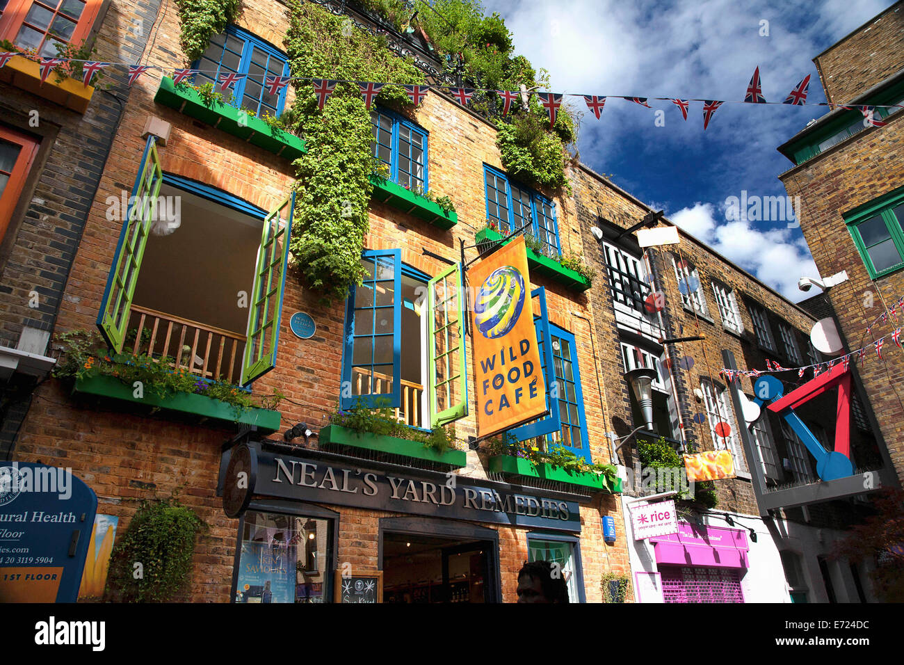 Neal S Yard Covent Garden Cafe
