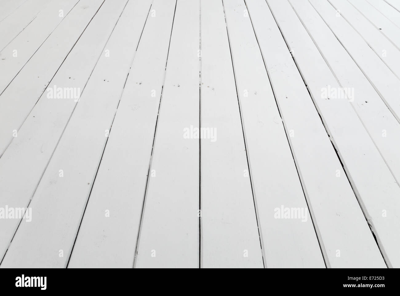 stock photo white wooden floor background with perspective