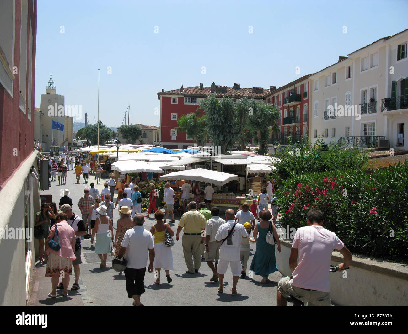 Port Grimaud Village And Harbour Located In South Of France Near St - Port grimaud location